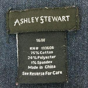 Ashley Stewart Skirts - Ashley Stewart Women's Jean  Skirt Blue Size 16